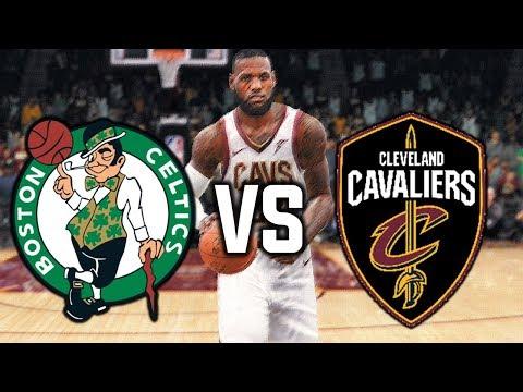 Cleveland Cavaliers vs Boston Celtics GAME 6 HYPE - NBA LIVE 18