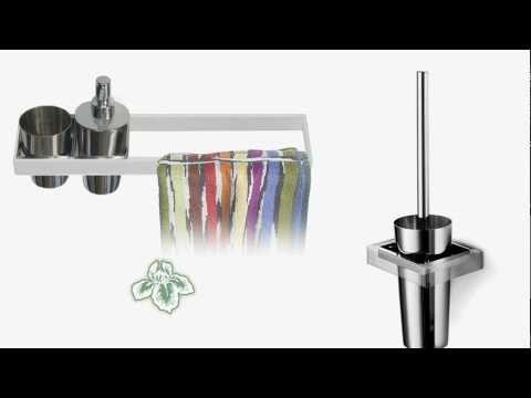 Sintesibagno ARCHIMEDE La serie modulare di accessori bagno per  l\'arredobagno creativo
