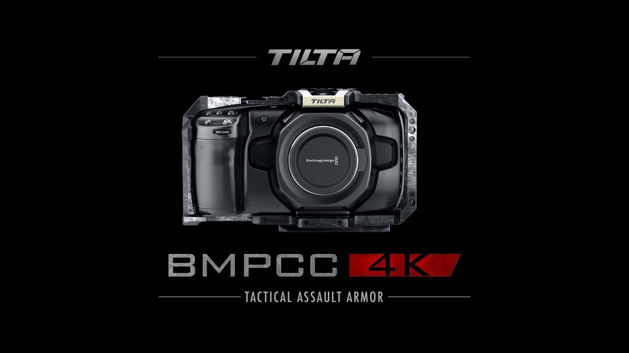 Buy Tilta Ta T01 A Tat01a Tilta Camera Cage Kit For Blackmagic Pocket Cinema Camera 4k 6k Tactical Grey