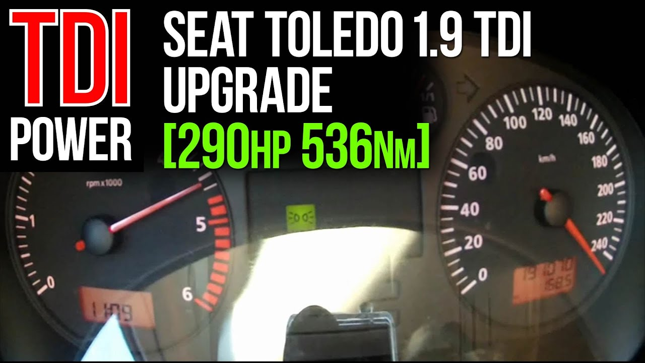 110 PS US PERFORMANCE CHIP TUNING SEAT TOLEDO 1.9 TDI 90