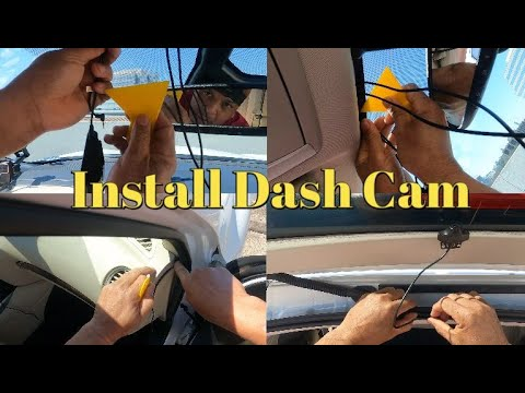 How to Install APEMAN 4K Touch Screen Dash Cam