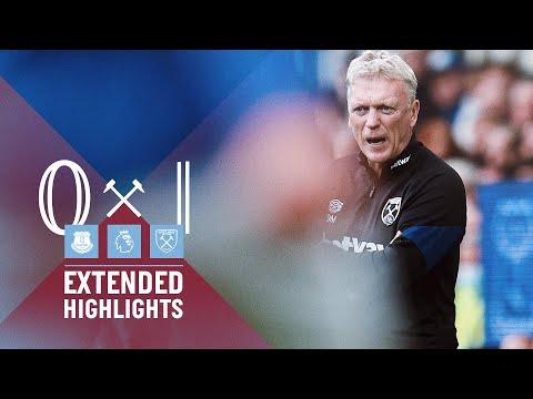 EXTENDED HIGHLIGHTS | EVERTON 0-1 WEST HAM UNITED