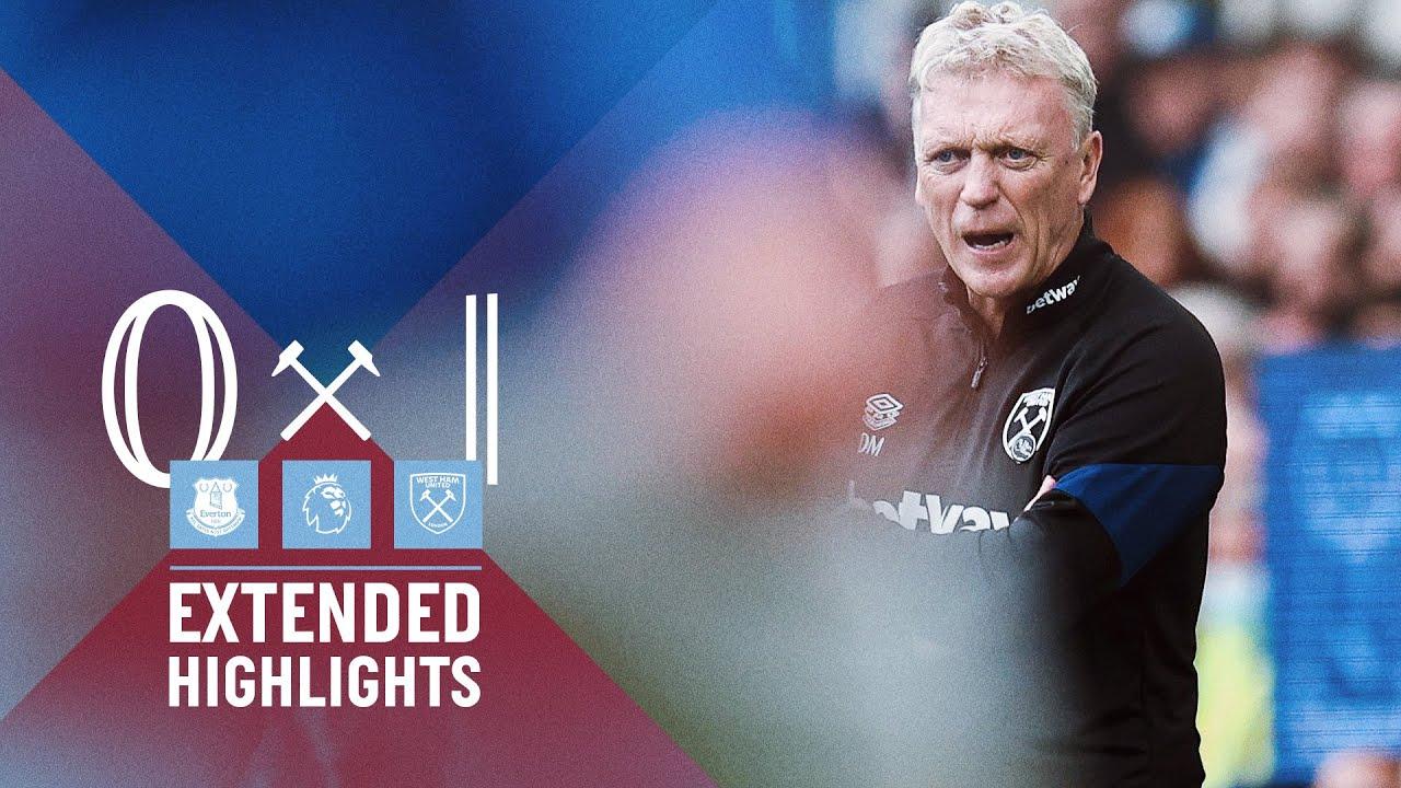 Download EXTENDED HIGHLIGHTS | EVERTON 0-1 WEST HAM UNITED