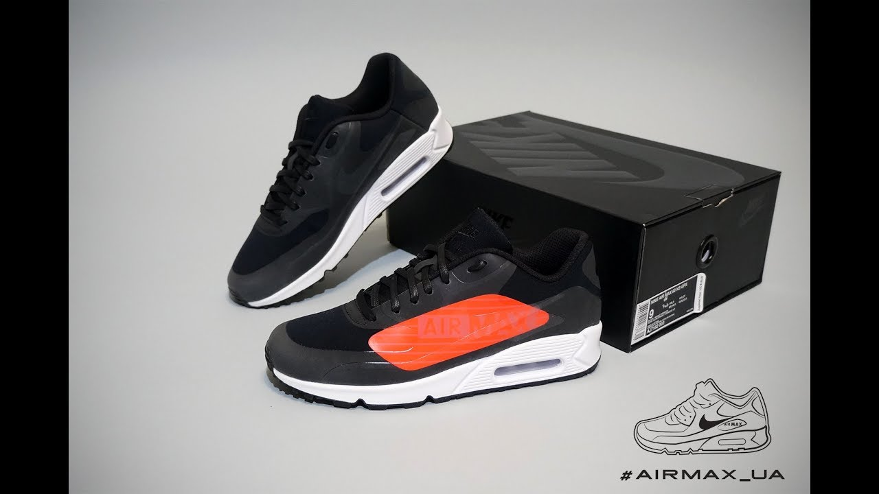 "359caa5c9d41f1 Nike Air Max 90 NS GPX ""Big Logo"" Black - YouTube"