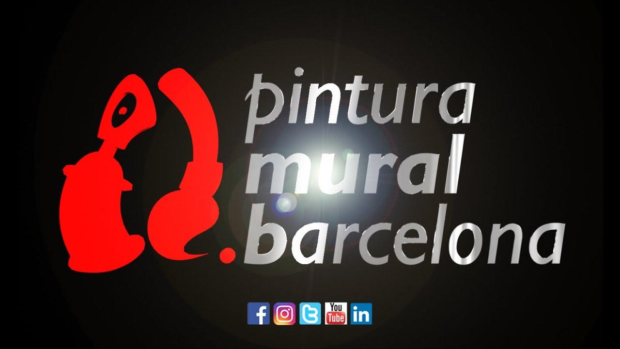 Pintura mural barcelona video 1 51min youtube - Pintura mural barcelona ...