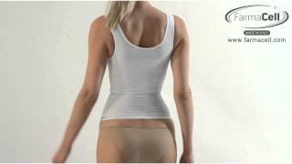 Przeciwcellulitowa, modelujaca i  wyszczuplająca Koszulka na ramiączkach - Art. 342