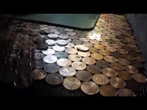 Douche italienne en piéces de monnaie