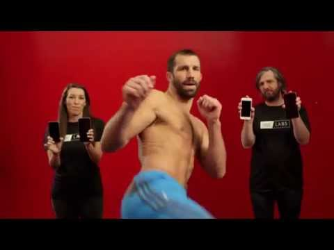Out of the Lab, into the Ring: SquareTrade Asks MMA's Luke Rockhold to Test the iPhone 6s & 6s Plus