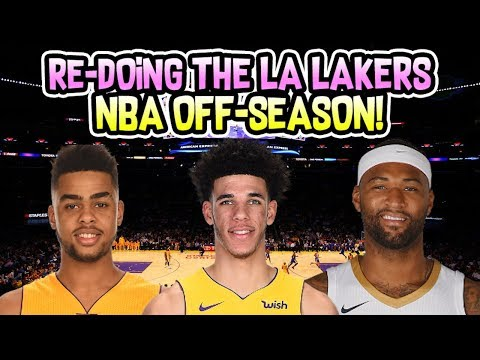 Re-doing The Los Angeles Lakers NBA Off-Season!