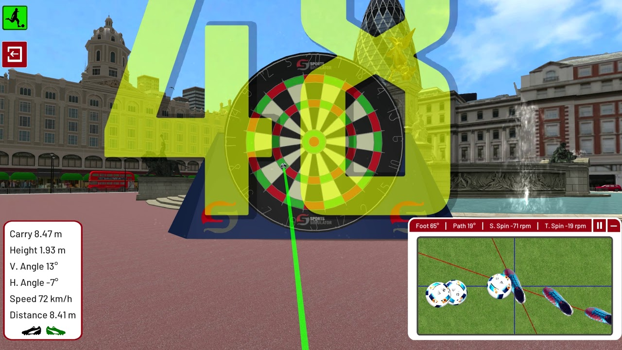 Golf Environment - London - Dartboard Challenge