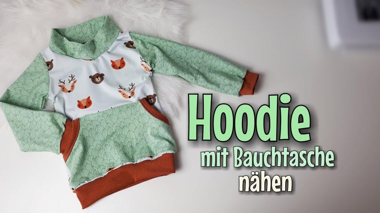Hoodie kleid baby schnittmuster
