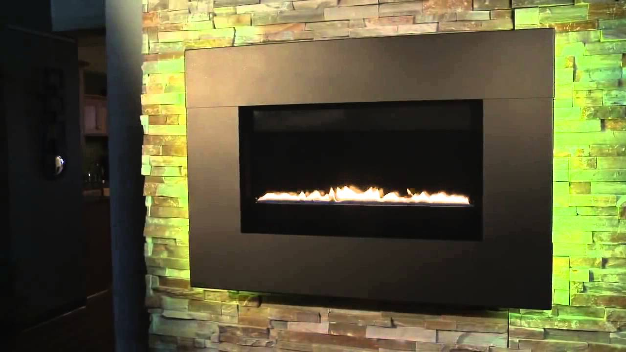 ion gas fireplace youtube