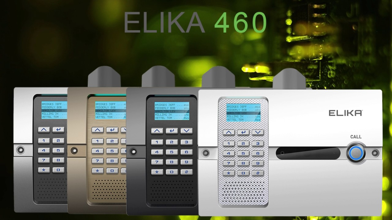 Elika 460 Wireless Telephone Entry System Access Control