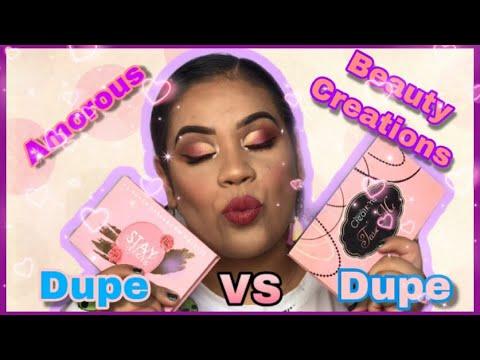 dupe de tease me  amorus vs beauty creations  eunimua