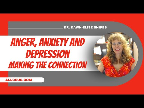 Depression Anger Anxiety Understanding the Connection