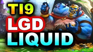 LIQUID vs LGD - GREAT GAME! - TI9 INTERNATIONAL 2019 DOTA 2
