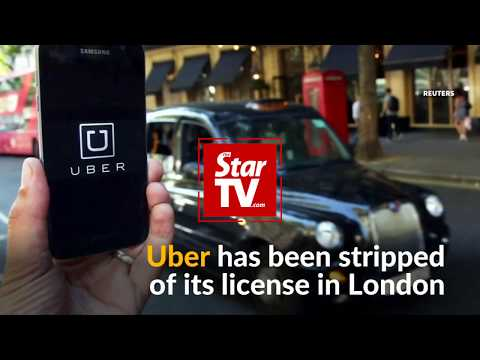 Uber stripped of its license in London