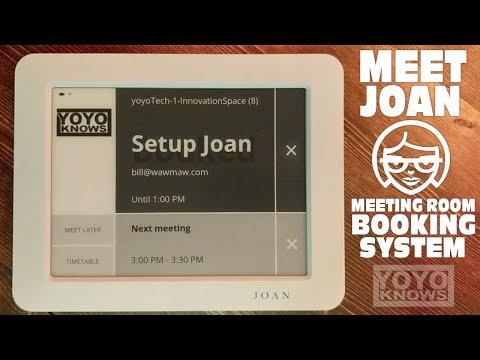 Joan Meeting Room Booking System - G Suite Google Calendar