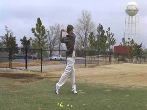 Drew Wright's Golf Swing - Norman North High School - Class 2011