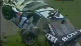 Ryan Newman 2003 Daytona Crash