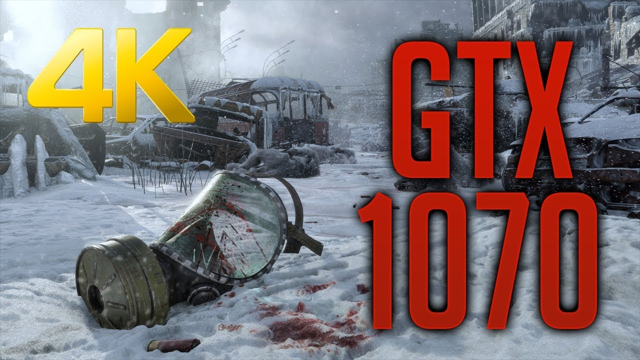 Metro Exodus GTX 1070 OC | Ryzen 7 2700 @4 1GHz | 4K Medium | FRAME-RATE  TEST