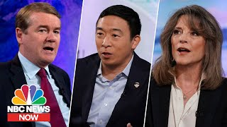 Watch: Presidential Candidates Pitch Their Plans To Tackle Climate Change | NBC News Now