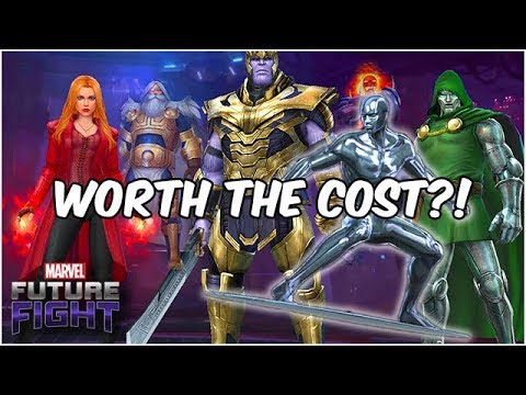 100 MILLION GOLD??? IS SILVER SURFER WORTH THE PRICE? - Marvel Future Fight