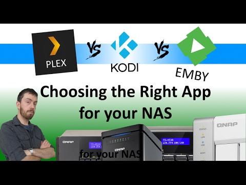 Plex vs KODI vs Emby - Choosing the Right Media Server for your NAS