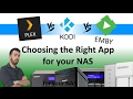 Plex vs KODI vs Emby - Choosing the Right Media Server for your NAS