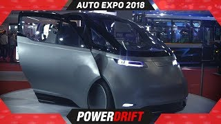 Uniti One @ Auto Expo 2018 : PowerDrift