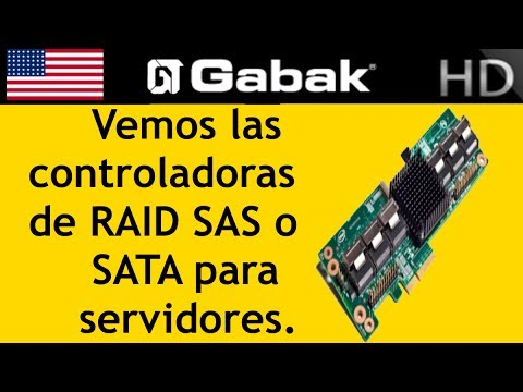 introduccion a las controladoras de RAID SAS o SATA para servidores