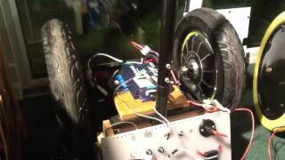 Arduino controlled Roboteq brushless 2x75 Amp motor controller.