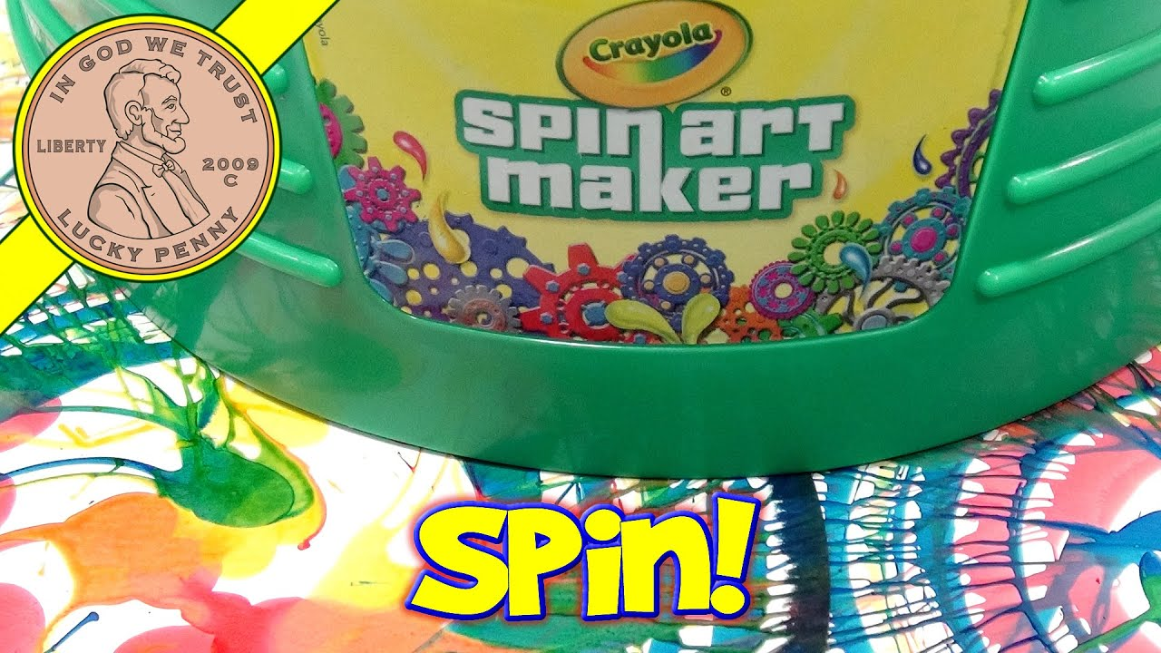 Crayola Color Spin Art Maker - YouTube
