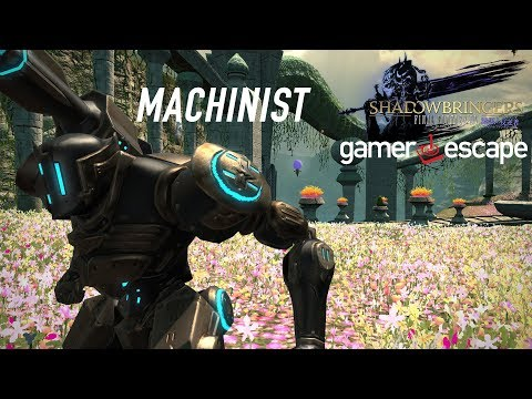 Final Fantasy XIV: Shadowbringers Hands-On with Machinist