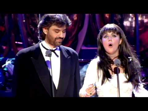 "Andrea Bocelli & Sarah Brightman ""Time To Say Goodbye"" 1997"