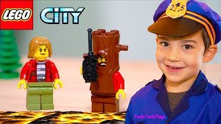Legos, Pretend Play Cops and Robbers + Floor is Lava Skits