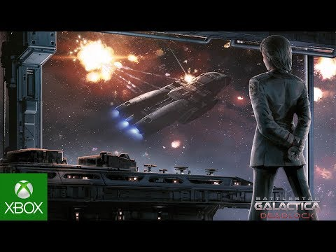 Battlestar Galactica Deadlock - Announcement Trailer | PS4