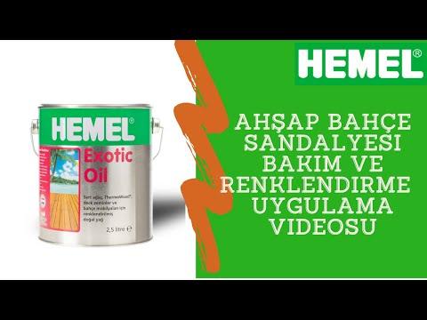 Hemel Exotic Oil Bahce Mobilyasi Uygulama Videosu