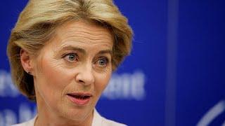 New EU chief von der Leyen