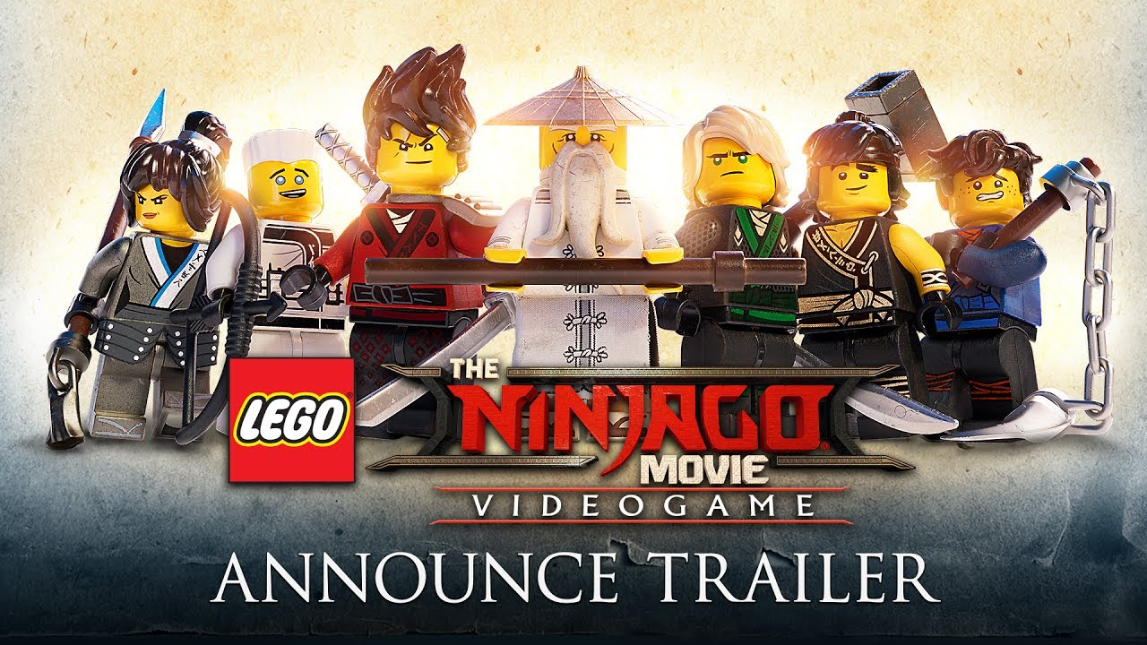 The Lego Ninjago Movie The Lego Ninjago Movie Video Game Official Announce Trailer