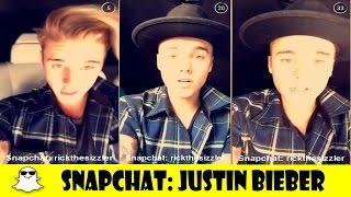 Baixar SNAPS do Justin Bieber - SNAPCHAT DOS FAMOSOS #1