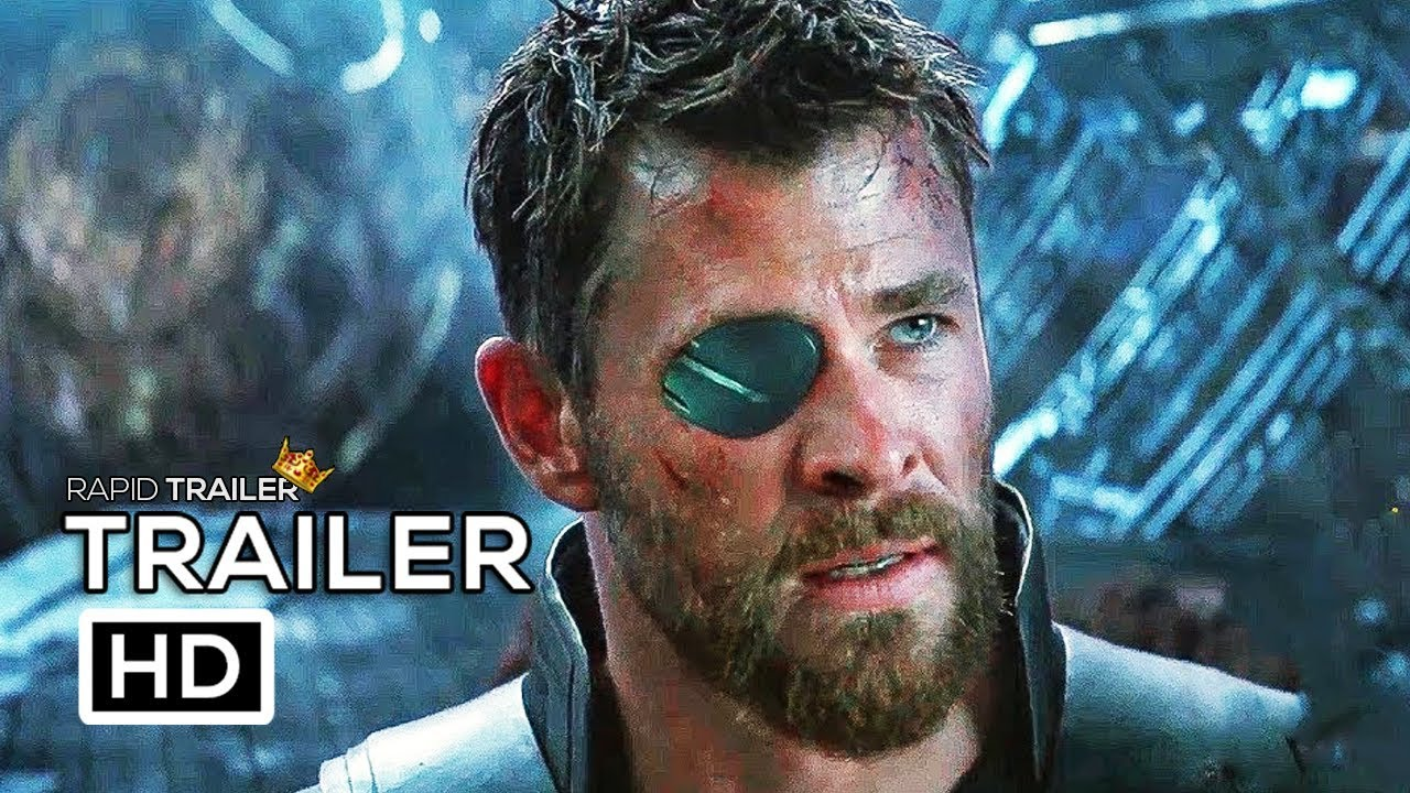 avengers: infinity war thor stop thanos trailer new (2018) marvel
