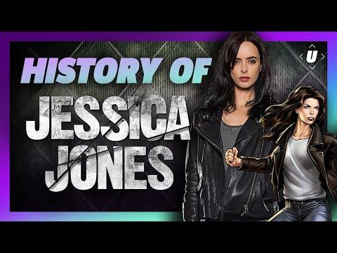 The Comic History of Jessica Jones