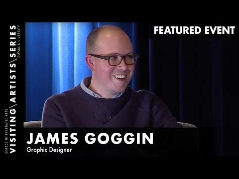 Graphic Designer, James Goggin