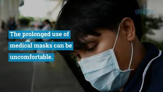 Use of medical masks when properly worn DOESN'T cause CO2 intoxication nor oxygen deficiency
