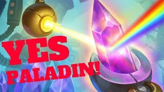 YESSSS PALADIN! Prismatic Lens Combo! [Hearthstone Game of the Day]