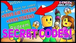 [☁️ Sky Land] ICE CREAM SIMULATOR 🍦 - SECRET CODES GIVES LOT'S TO AIR TOKENS! Roblox