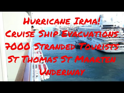Hurricane Irma Update! Up to 7000 Tourists to be rescued by Cruise Ships Norwegian Royal Caribbean