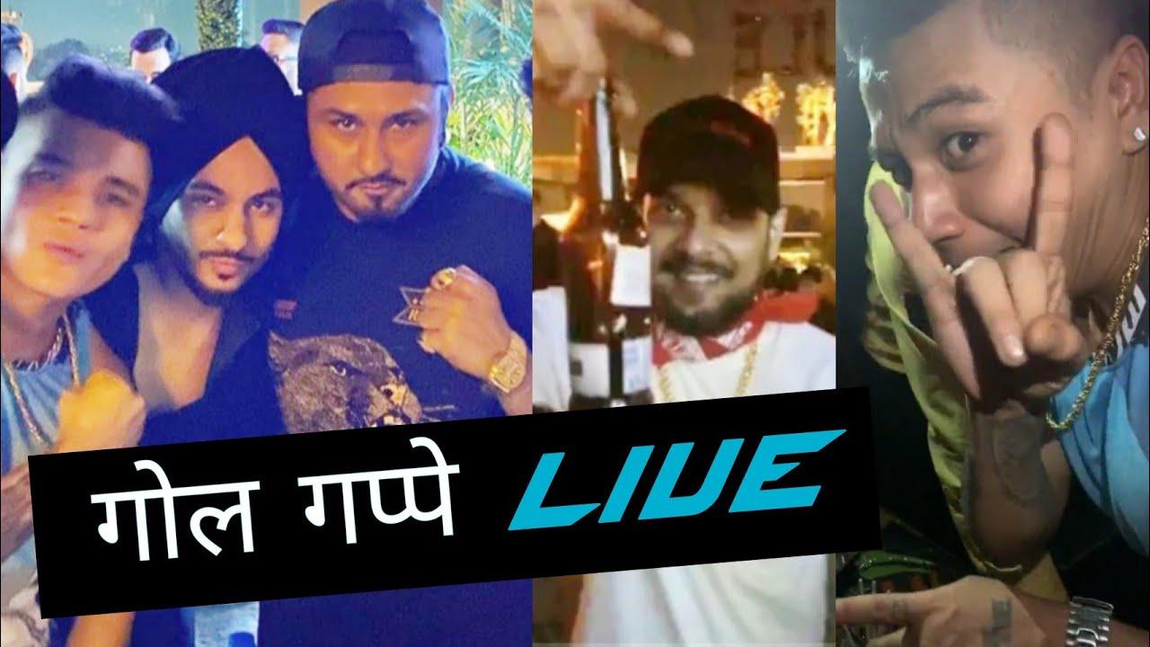 Yo Yo Honey Singh LIVE Party With LIL GOLU & IKKA | Mafia Mundeer