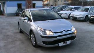 Citroen C4 1.6 HDi 16V SX Review,Start Up, Engine, and In Depth Tour